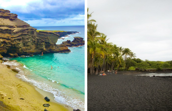 15 Things to Do on the Big Island | Green Sand Beach