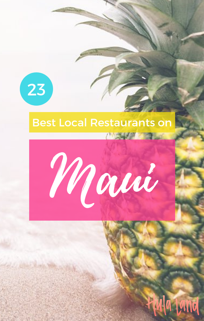 Best food in Maui