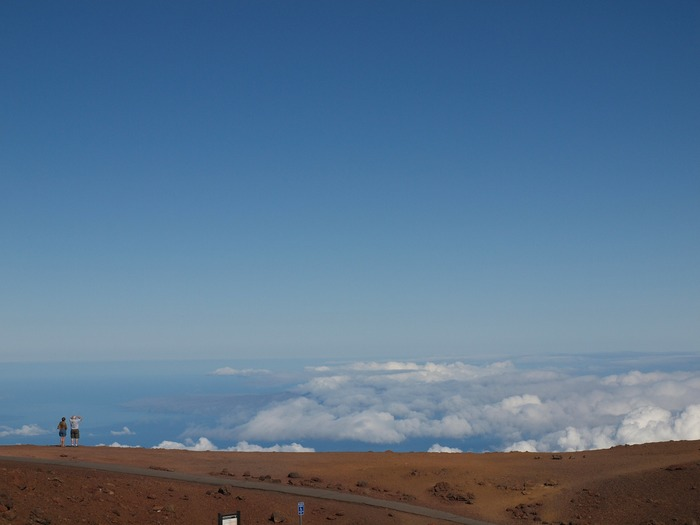 Maui bike ride Haleakala