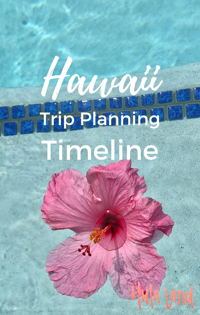 Planning a trip to Hawaii