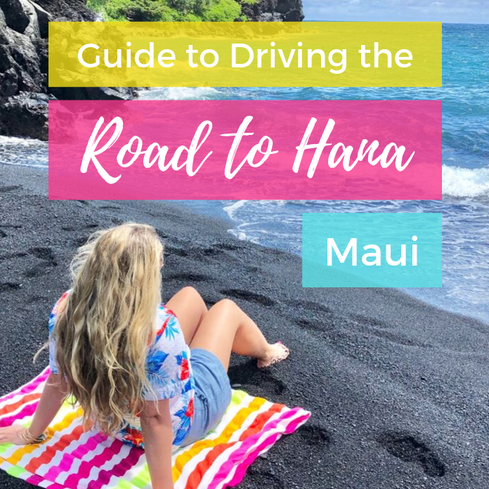 Driving the Road to Hana, Maui