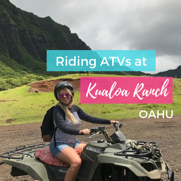 ATV Tour on Oahu at Kualoa Ranch