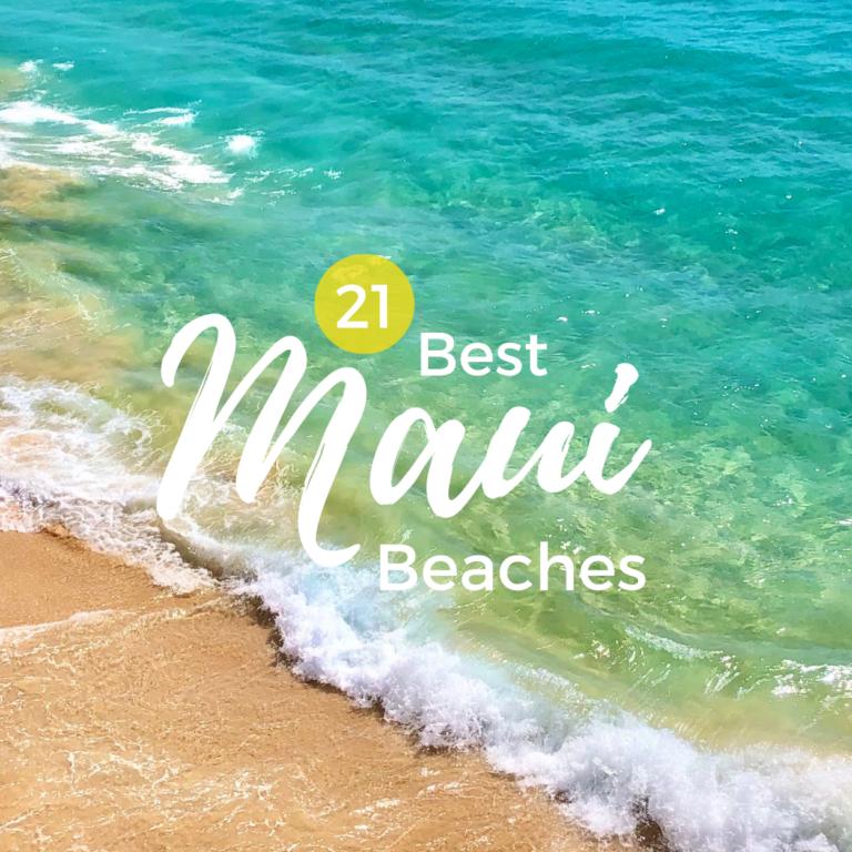 21 Best Maui Beaches