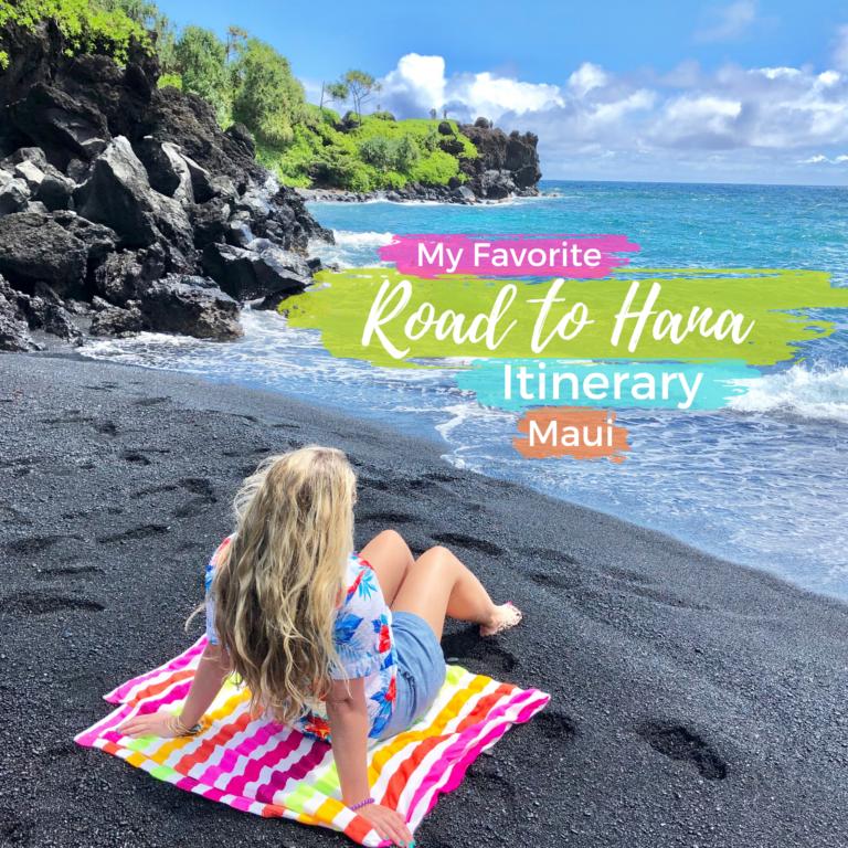 Road to Hana Itinerary, Maui