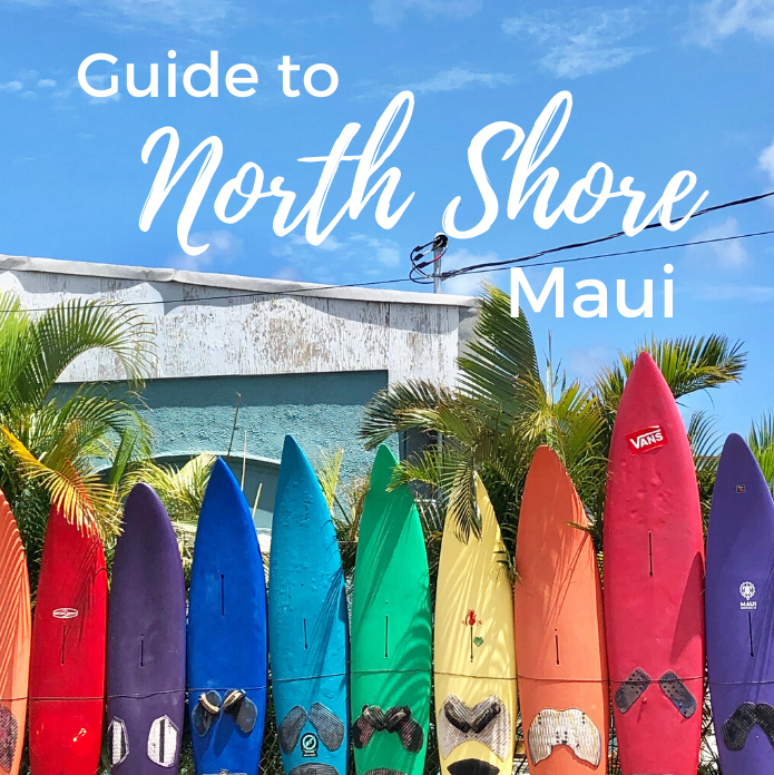 Guide to the North Shore, Maui