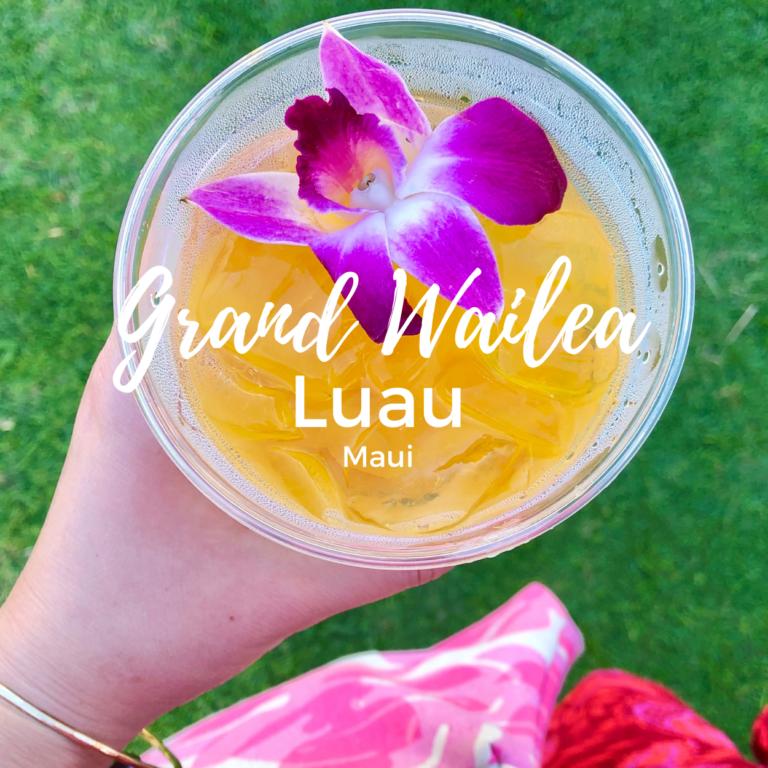 Grand Wailea Luau Review, Maui