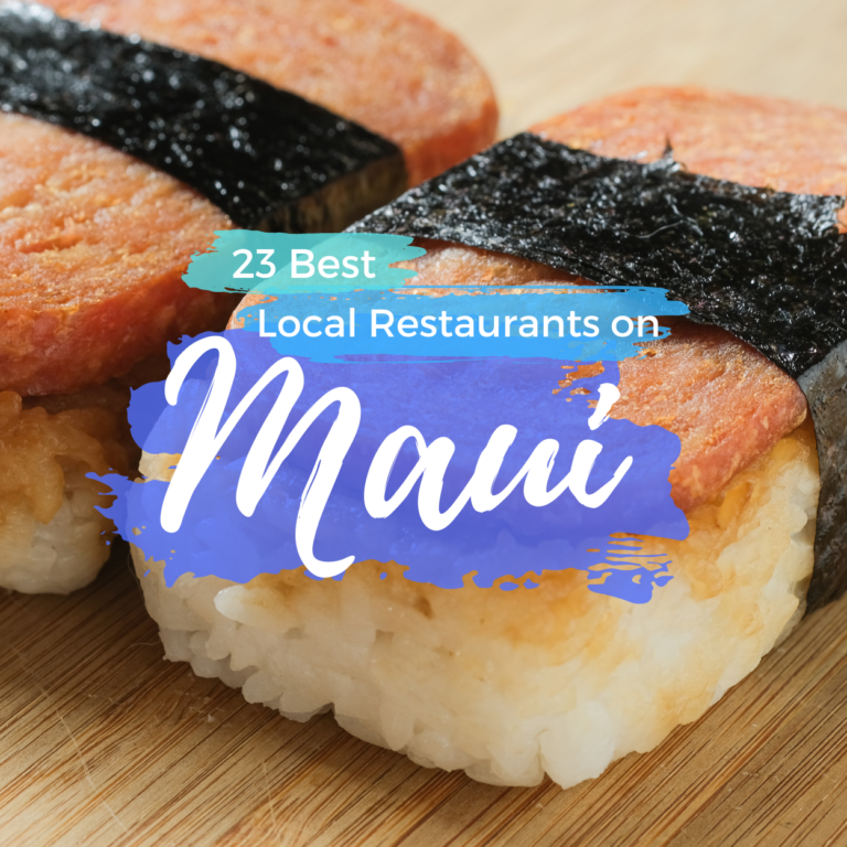 Best Food in Maui: 23 Local Restaurants