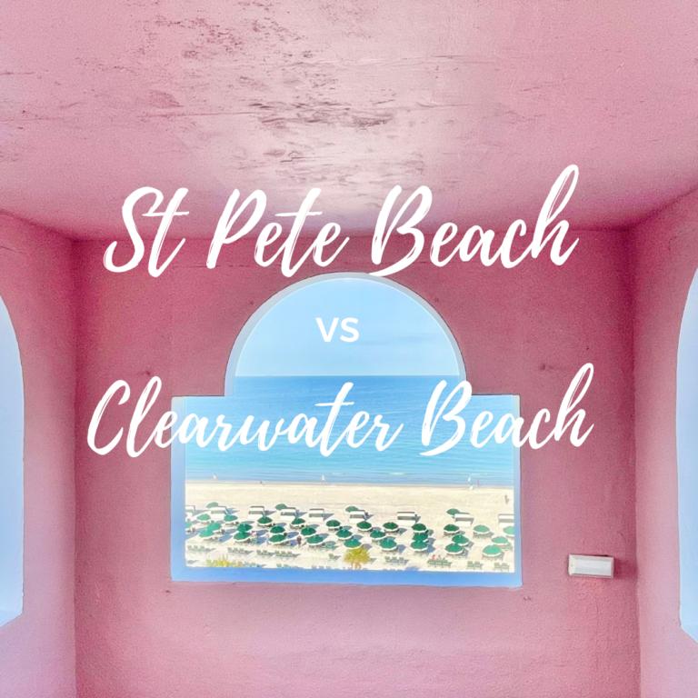 St Pete Beach vs Clearwater Beach, Florida