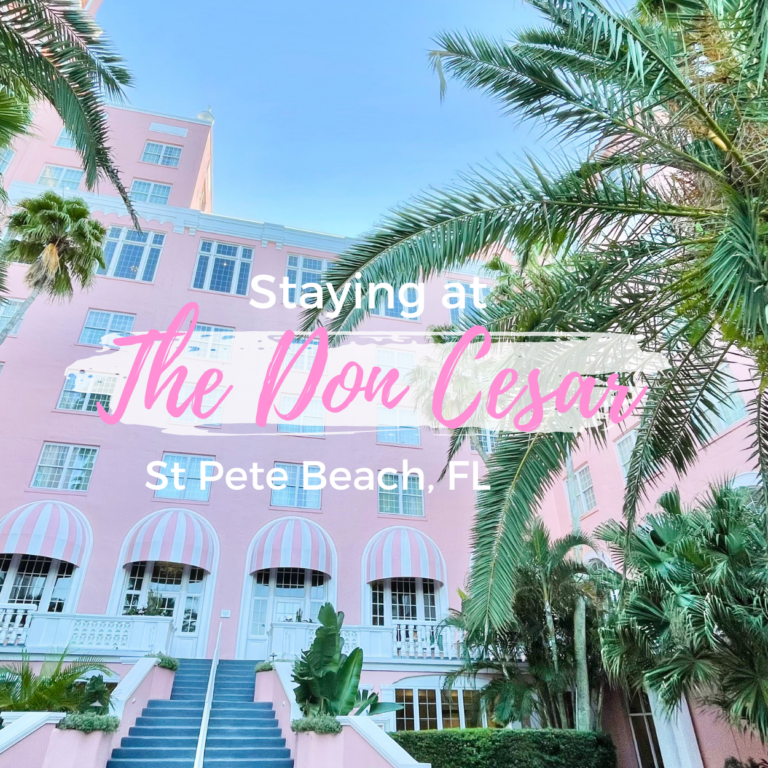 The Don Cesar Hotel Review, St Pete Beach FL