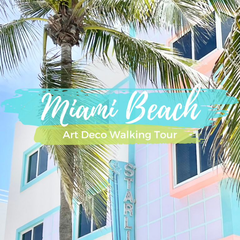 Miami Art Deco Walking Tour