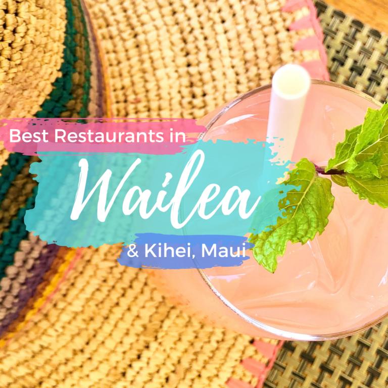 Best Restaurants in Wailea & Kihei